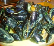 plat de moules au curry