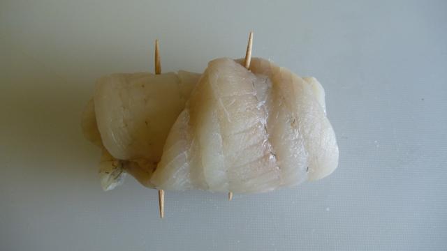 Roulade de filet de plie